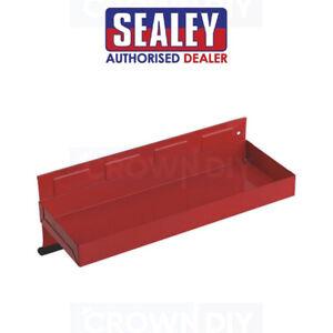 Magnetic Tool Box Storage Red Tray Side Shelf 310 x 115mm Sealey Tools APTT310