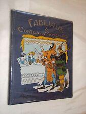 """""""FABLIAUX ET CONTES DU MOYEN-AGE"""" (1930) ILLUSTRATIONS DE ALBERT ROBIDA"""