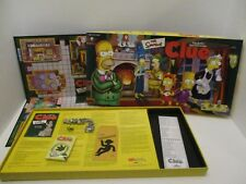 Clue The Simpsons 1st Edition 2000 Parker Bros. Detective Game - 100% Complete