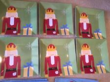BRAND NEW Pottery Barn Kids  NUTCRACKER Placemats  Plates Table Set Christmas
