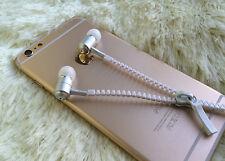 3.5mm In-Ear Zipper Earbuds Earphone Headset Headphone For iPhone Samsung HTC LG