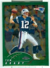 TOM BRADY 2002 TOPPS CHROME #100 - HOF PATRIOTS