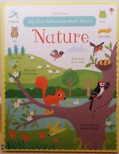 Usborne My First Reference Book About Nature, Ages 3 +, Hardback