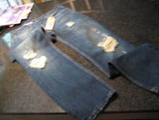NWT - Mens LEVIS 511 SLIM Fit Destructed Blue Denim Jeans (30 x 32)