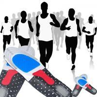 Unisexe Semelle en Gel Orthèses Absorption des Choc Confort Chaussures Intérieur