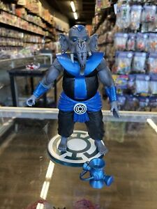 DC Direct BLUE LANTERN BROTHER WARTH Green Lantern Series 5 Figure Complete Rare