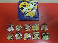 Disney Couples Mystery Pack 10 Pin Set Snow White Tangled Jasmine Queen AUTHENT