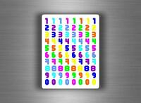 80x sticker letters numbers scrapbooking diy labels self adhesive scrapbook r9