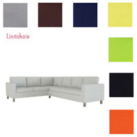 Custom Made Cover Fits IKEA Karlanda Corner Sofa 2+3, Sectional Sofa Cover