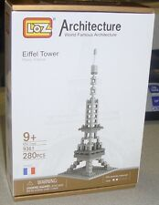 Loz Micro Building Blocks Architrcture Eiffel Tower 280 PC Set Brand New