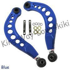 BLUE Adjustable Rear Upper Suspension Camber Control Arm For 06-11 Honda Civic