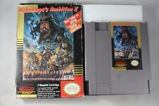 Nobunaga's Ambition II 2 (Nintendo NES) with Box FAIR