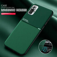 For Xiaomi Redmi Note 10 / 10 Pro Hybrid PU Leather Texture Magnetic Case Cover