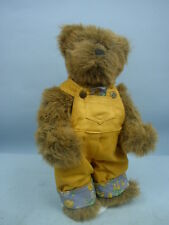 "14"" Gallery Teddy Bear by Etta Foran and Pat Joho For Ashton-Drake 1996"