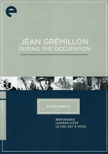Jean Gremillon During the Occupation [Criterion Colle (2012, DVD NEUF)3 DISC SET