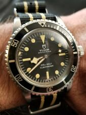 1978 TUDOR/ROLEX VINTAGE Submariner RARE COMBO Snow Flake BLACK BAY ANCESTOR!!!