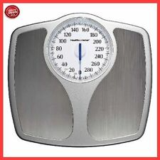 Bathroom Weight Scale Body Health Fitness Fat Stainless Steel Dial Mechanical