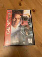 True Lies (Sega Genesis, 1995) Original and Authentic Box and Game