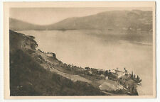 France - Aix-les-Bains, Lac du Bourget, Vue prise d'Hautecombe - 1920's postcard