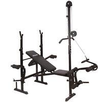 Banco de pesas Banco de musculación  banco de entrenamiento ajustable
