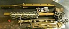 brass ho scale loco frames 1 has motor steam chest some brass varney parts misc