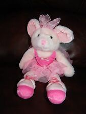 Russ Berrie and Company Mabellina the Ballerina Mouse Plush Beanie Doll 12""