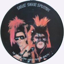 Sigue Sigue Sputnik The Trial Of Tony James Myth Or Reality Picture Disc Uk 12""