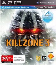 Killzone 3 Ps3 Game With Instruction Booklet