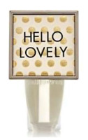 *New * HELLO LOVELY~ Wallflower Plug ~ Bath & Body Works ~Ships Free!