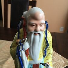 A Chinese Porcelain Statue Taoist Wiseman Shoulao