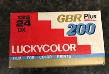 Lucky GBR Plus 200 35mm Film Expired Film Kodak Perutz AGFA 3m Fuji Ilford LOMO