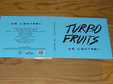 TURBO FRUITS - NO CONTROL / DIGIPACK-CD 2015 MINT!