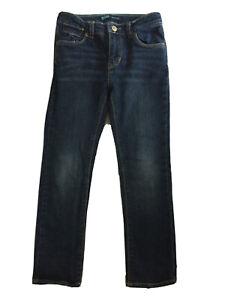 Levi Slim Fit Dark Blue Jeans, Age 6yrs