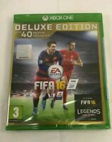 Genuine FIFA 16 Deluxe Edition (Microsoft Xbox One) Brand New Sealed FAST N FREE
