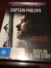 CAPTAIN PHILLIPS Tom Hanks Like New DVD R2,4&5 PAL