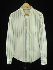 Band of Outsiders Button Down Shirt -Medium- Multi-Stripe Cotton Made in USA