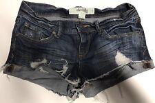 Charlotte Russe * Women's size 2 denim mini shortie shorts