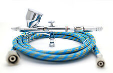 Royalmax 0.2mm 180 Dual-Action Gravity Feed Airbrush + 1.8M Air Hose WD21