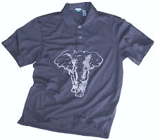 adc825d90 PAUL SMITH SOFT COTTON ELEPHANT APPLIQUE   EMBROIDERY T-SHIRT POLO NWT SZ-L