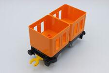 LEGO Duplo Eisenbahn - Güterwaggon - Wagon orange / Modell ab 2018 / aus 10875
