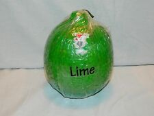 LARGE VINTAGE 'LIME' SHAPE GREEN 40 HOUR CANDLE