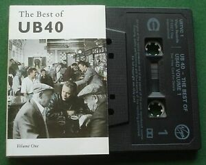 The Best Of UB40 Vol. 1 inc Red Red Wine / I Got You Babe + Cassette Tape TESTED