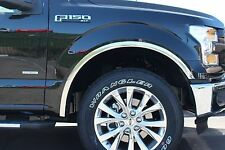 Stainless Steel Fender Trim | 2015-2017 Ford F-150 (Without OEM Flares)