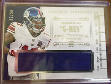 Odell Beckham Jr. National Treasures Relic Card 2/50 NY Giants RC Rookie Card 14