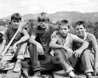 Stand By Me (1986) River Phoenix, Corey Feldman Cast 10x8 Photo