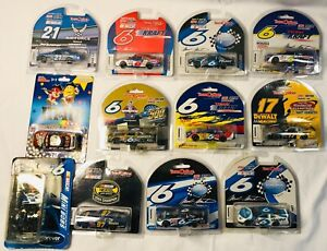 10 Team Caliber 2002-2004 1:64 Die Cast Collectibles + Bobblehead and 1 More NIB