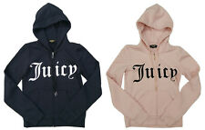Juicy Couture Robertson Core Gothic Logo Hoodie Zipped Jacket