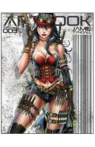 Jamie Tyndall Artbook Volume 3 Signed Hard Cover Edition !!!   NM