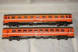 HO VOITURE EUROFIMA SNCF 1ER 2EME CLASSE ROCO 4275B 44311 TRAIN ELECTRIQUE