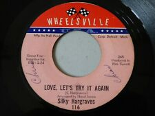 "NORTHERN SOUL 7"" RECORD I'LL KEEP ON TRYING LET'S TRY IT AGAIN SILKY HARGREAVES"